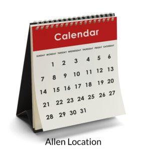 daily calendar blue sky sports center